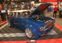 SEMA Rollout of the 1963 AMC Rambler American 440 Wagon