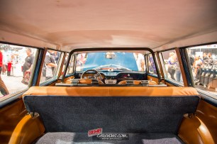 Interior back to front view of the 1963 AMC Rambler American 440 Wagon