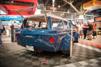 Rear quarter panel view of the of the 1963 AMC Rambler American 440 Wagon
