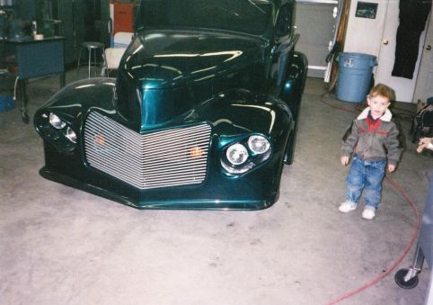 Tinman 2 Kustoms Luke Merrill with his Dads 41