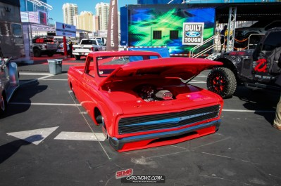 Nick Germano - 1968 Chevy C10 at SEMA 2017