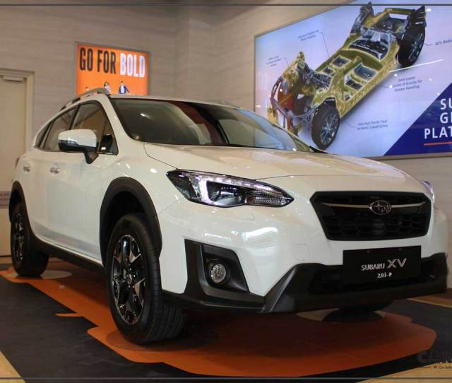The  Subaru Xv Shifts A Change With A New Subaru Global Platform Which Increases Body And Chassis Rigidity By Over  Per Cent Than The Previous Xv