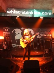 Susan at Whistlebinkie's in Edinburgh