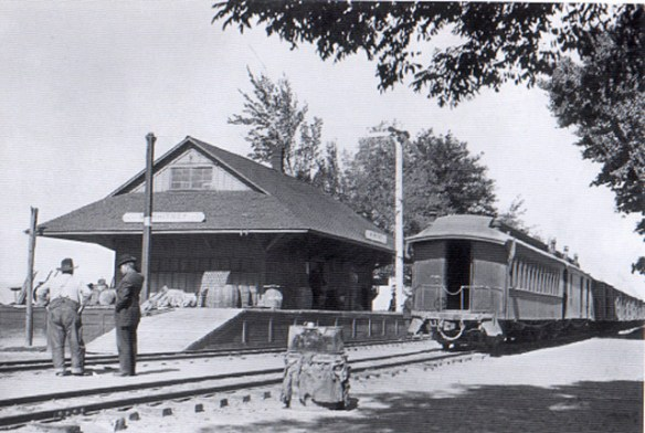 Mt. Whitney Station before its demolition in 1911. (Lee Gustafson collection)