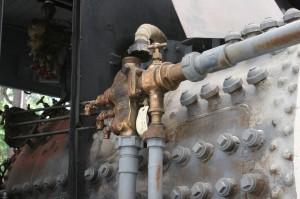Engineers injector and plumbing.