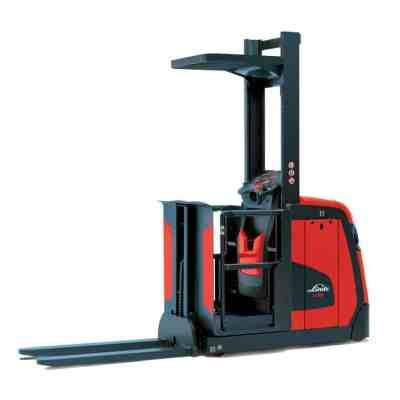 Linde 5021 - V10 - Electric Medium Level Order Picker Carson Material Handling