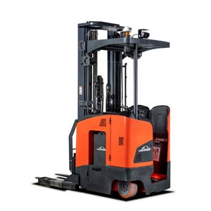 Linde Electric Narrow Aisle / Very Narrow Trucks Linde Forklift Carson Material Handling