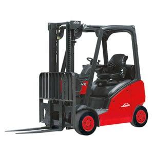 Internal Combustion Counterbalanced Cushion Tire Trucks Linde Forklift Carson Material Handling