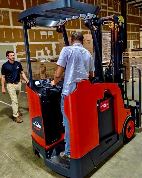 Linde Forklift Training