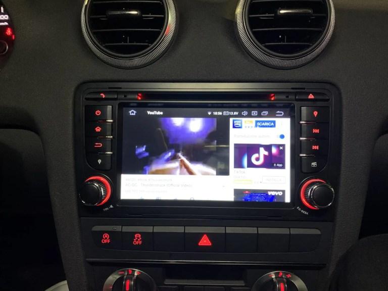 Autoradio Navigatore Audi A3 Multimediale Android 9 Octacore