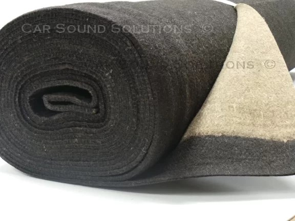 Jute Felt Soundproofing Material Car Sound Solutions