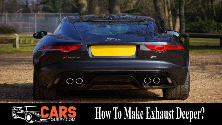 How to Make Your Exhaust Sound Louder and Deeper