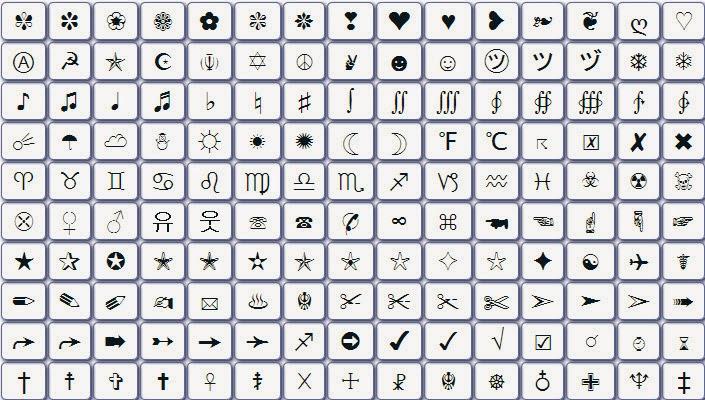 رموز زخرفة اجمل رموز الزخرفة كارز
