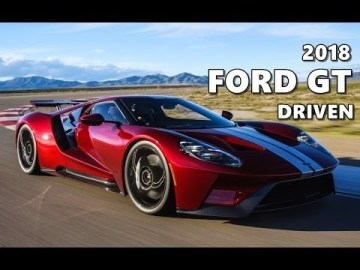 2018 Ford Gt Supercar Concept