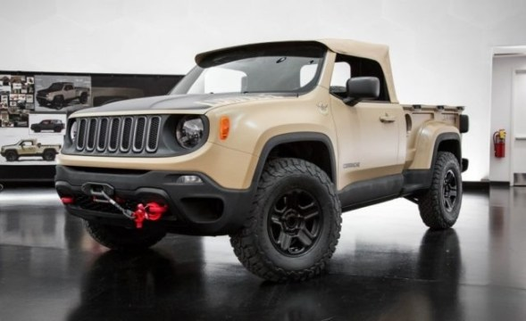 2018 Jeep Comanche Release date and Specs