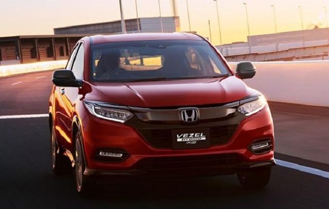 Best 2019 Honda Vezels Spy Shoot