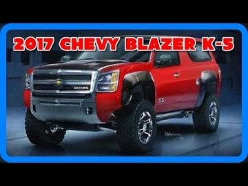 2018 Chevy Blazer K 5 First Drive