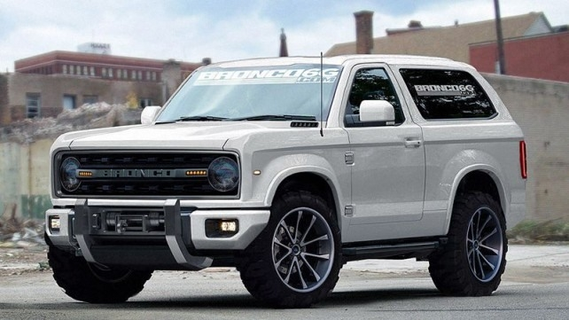 2018 Ford Bronco Redesign and Price
