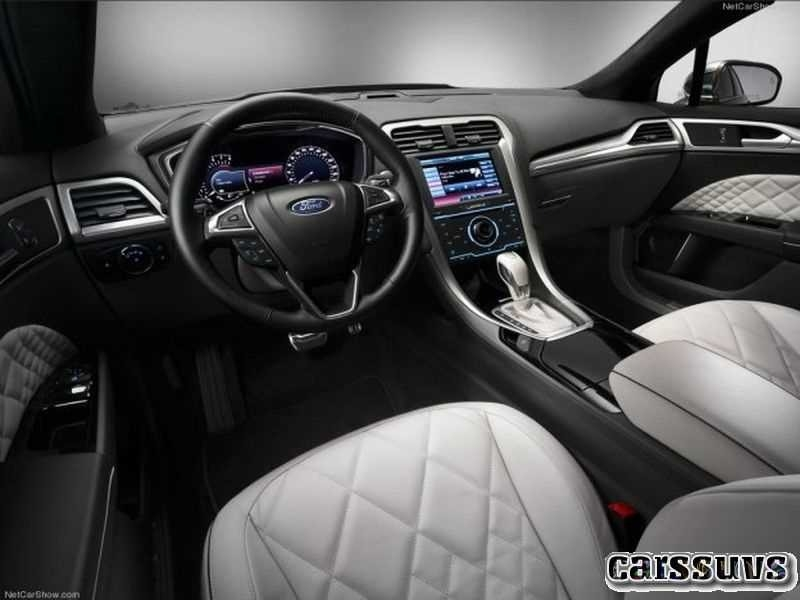 Best 2019 Ford Mondeo Vignale New Interior