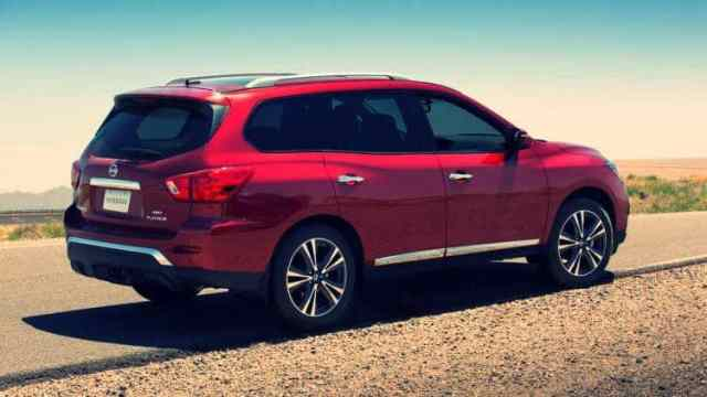 2019 Nissan Pathfinder Photos