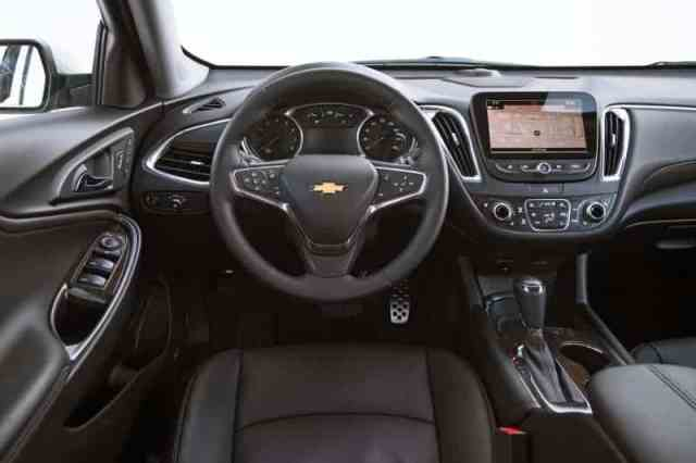 New Chevrolet Malibu Interior