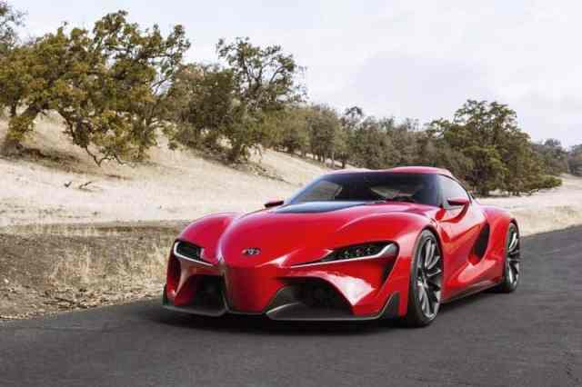New Toyota Supra FT1