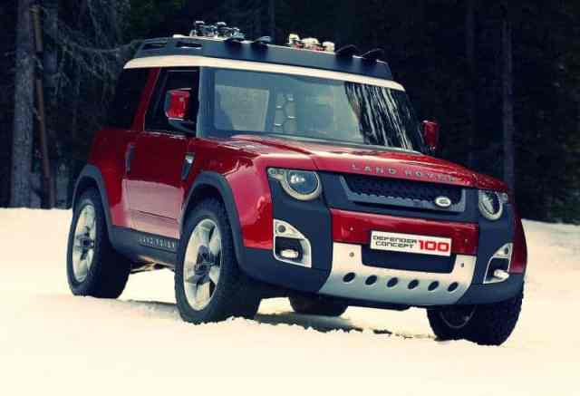 Land Rover Defender Replacement