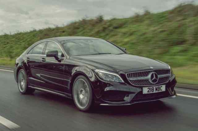 Black Mercedes CLS AMG Test Drive