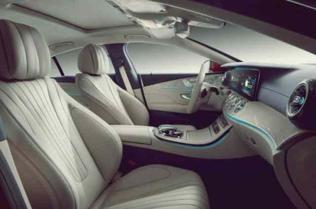 Mercedes CLS Interior Design