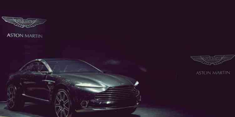 New Aston Martin DBX Crossover-SUV