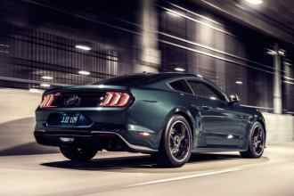 Rear View of Ford Mustang Bullitt - 2019 Ford Mustang Bullitt Special Editions