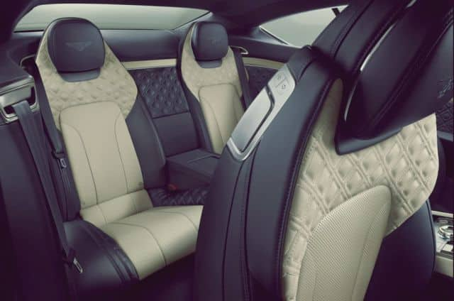 Seats Layout Continental GT - 2019 Bentley Continental GT