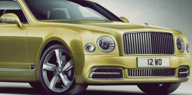 2018 Bentley Mulsanne Speed Exterior In Depth View