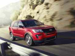 2018 Ford SUV Explorer