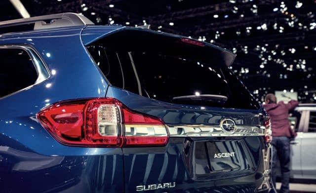 2019 Subaru Ascent Rear View
