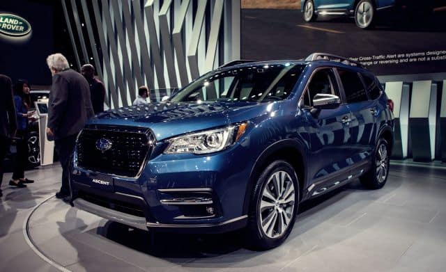2019 Subaru Ascent Shown