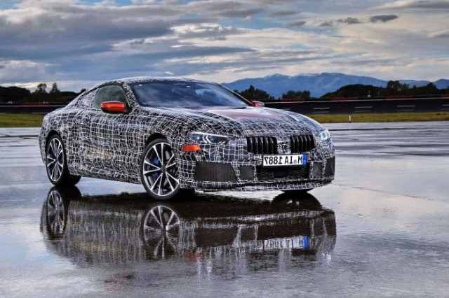 BMW 8 Series Prototype 2
