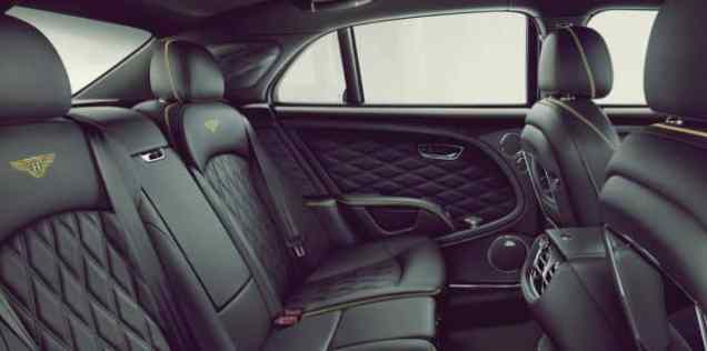 Bentley Mulsanne Speed Passanger Seat