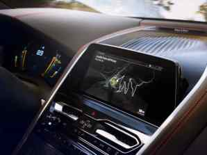 Entertainment Feature in BMW 8 Series