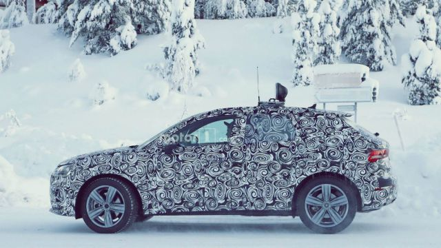 New Audi Q3 Spy Photo