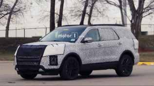 New Ford Explorer Spied