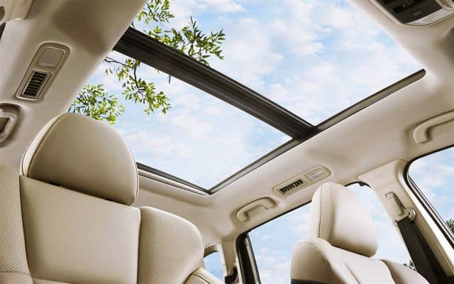 Subaru Ascent Panoramic Moonroof