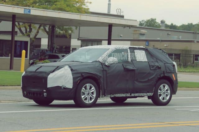 2019 Chevrolet Blazer Spy Photo