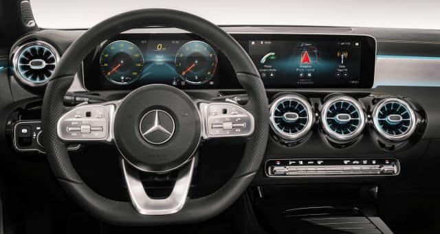 Elegant Mercedes-Benz Interior Cockpit