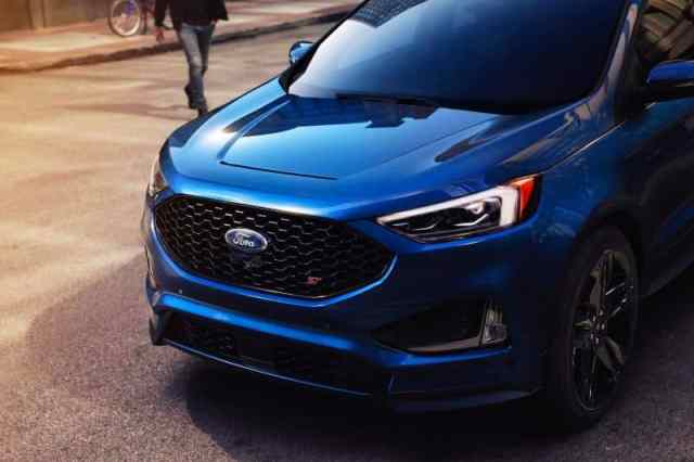 Eye-Catching Ford Edge ST 2019