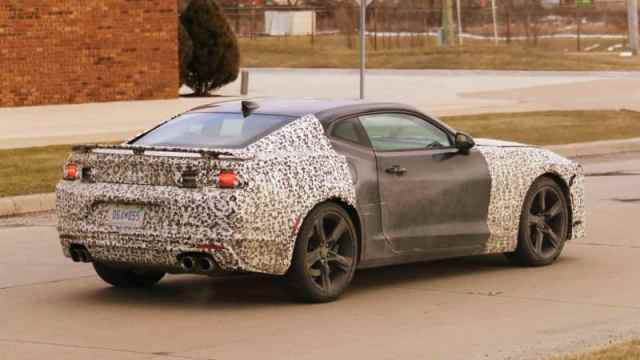 New Camaro Spy Photo