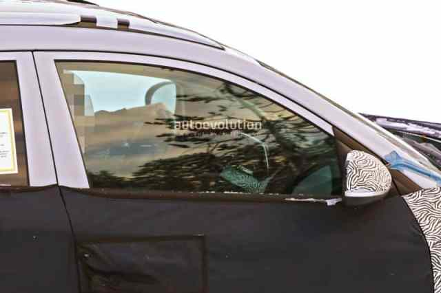 New Hyundai Tucson Spy Photo