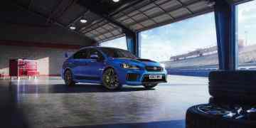 The Latest WRX STI