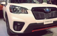 2. New Grille Design for 2019 Subaru Forester