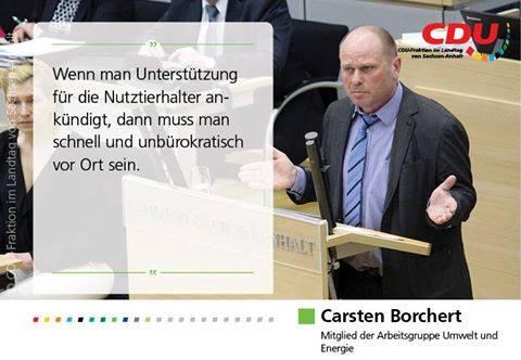 Radke/Borchert: CDU möchte Wolf in das Jagdrecht bringen